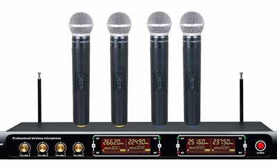 PV-4699 VHF Wireless Microphone