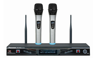 PV-2500 VHF Wireless Microphone