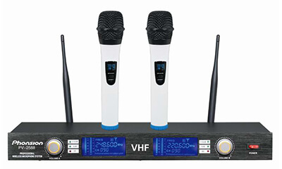 PV-2588 VHF Wireless Microphone