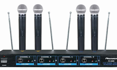 PV-4688 VHF Wireless Microphone