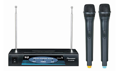 PV-2878W VHF Wireless Microphone