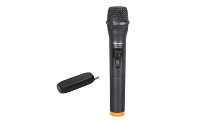 PU-138A UHF USB Wireless Microphone