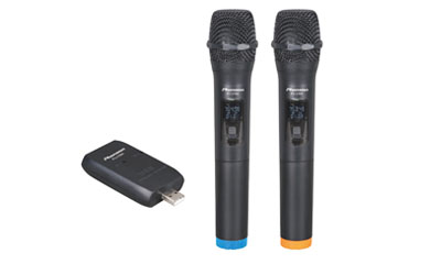 PU-238A UHF USB Wireless Microphone