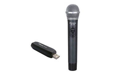 PU-139 UHF USB Wireless Microphone
